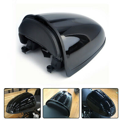 Black Racing Pillion Seat Hump Cover for 2014-2017 BMW R Nine T R9T