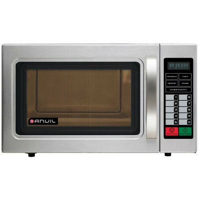 Anvil 1100W Commercial Microwave with Programmable Pads & Ceramic Base MWA1100