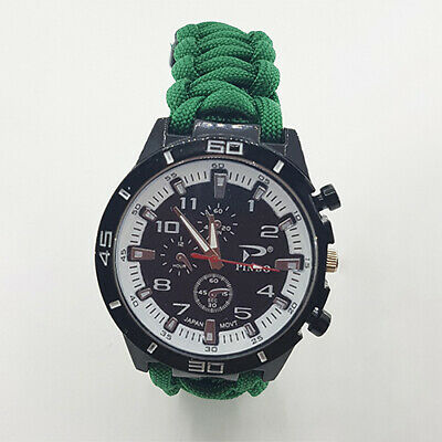 Paracord Watch with South Western Ambulance Service (SWAS) Colours a Great Gift