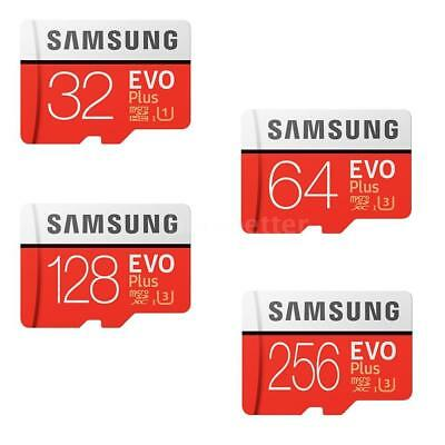 Samsung EVO Plus Class 10 Micro TF SD Memory Flash Card 32/64GB/128GB/256GB G0S5