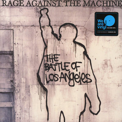 Rage Against The Machine The Battle Of Los Angeles Vinile Lp 180 Grammi Nuovo