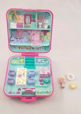 Vintage Polly Pocket BlueBird 1989 PartyTime Surprise COMPLETE