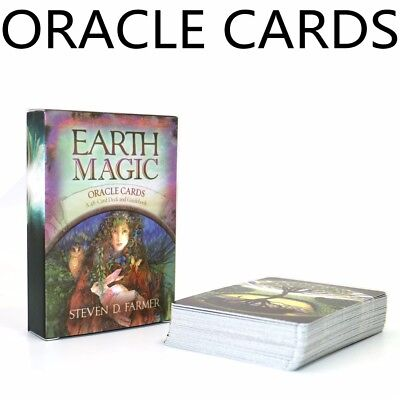 Oracle cards earth magic tarot deck