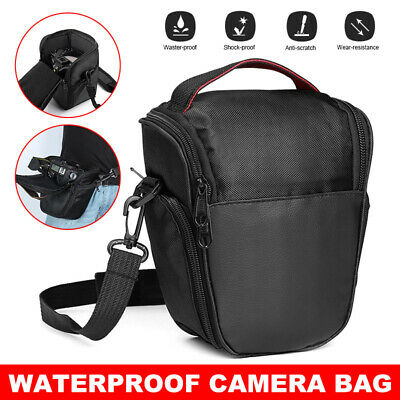 Camera Shoulder Bag Carrying Case Handbag Waterproof For Canon Nikon Sony Pentax