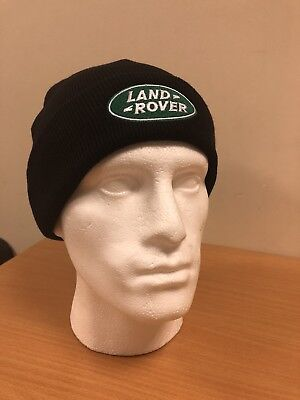 Land Rover Beanie Hat With Turn-up