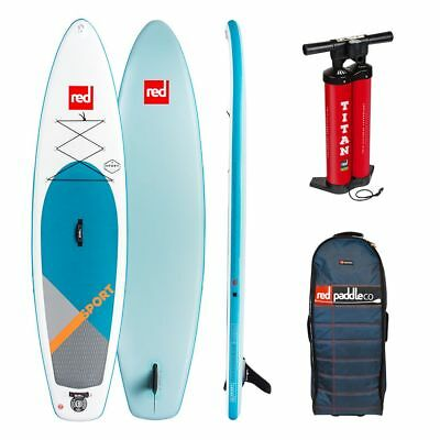 RED Sport 11,3 SUP Komplett Set Stand Up Paddle Board aufblasbar red SUP 18/19