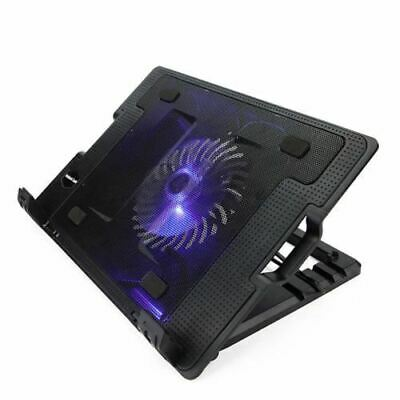 Laptop Notebook Cooler Cooling Stand Pad with USB hub + Fan - C only
