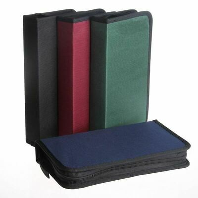 80 Disc CD VCD DVD Music DJ Album Storage Bag Nylon Holder Case Wallet