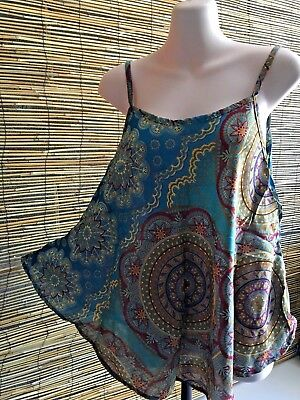 New design bulk lot of 6 rayon strappy tops.Summer fashion.Fits many sizes.Cool.