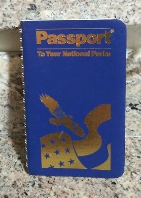 """PASSPORT TO YOUR NATIONAL PARKS - 2013 EDITION 4"""" x 6"""""""