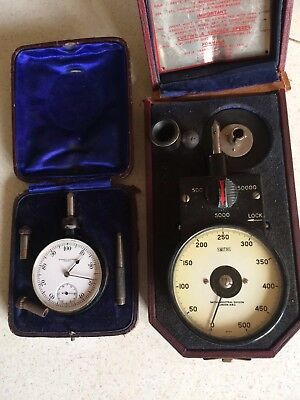 Vintage Smiths Handheld Tachometer in original Fitted Case Vintage Korden Count