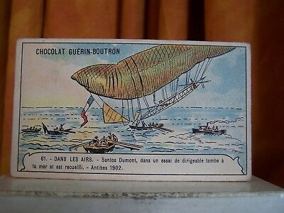 Image Chromo - Guérin Boutron / Dirigeable - Dans les airs 61