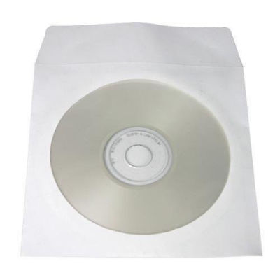 Yens® 20 PAPER CD DVD R CDR CLEAR WINDOW, FLAP ENVELOPE (FREE SHIP)