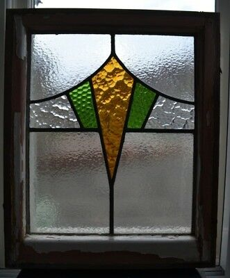 1 art deco British leaded light stained glass window R624b. WORLDWIDE DELIVERY