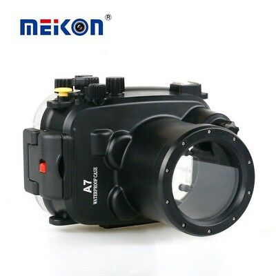 Meikon 40m Underwater Camera Housing case for Sony A7/ A7r/ A7s 28-70mm Lens