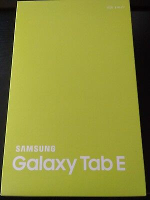 NEU - Samsung Galaxy Tab E 9.6 SM-T560 Android 8GB WiFi Tablet - Metallic Black