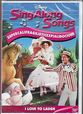 Disney Sing Along Songs Mary Poppins I Love To Laugh DVD BRAND NEW