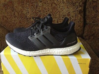 8ef77c78d S80682  WOMENS ADIDAS Ultraboost 3.0 - Black White -  149.99