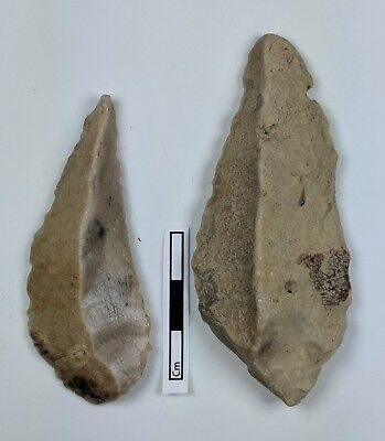 Mousterian Points c45,000 years BP