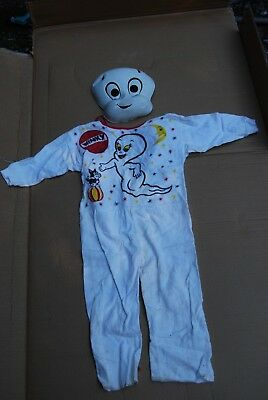 Vintage Halloween Costume Winky the Ghost Child's Small with Mask