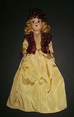 "Vintage 1940s 1950s Marcie Type Transitional 7"" DOLL Compo Head Mohair HP Body"