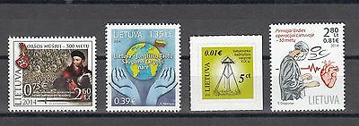 Lietuva Litauen 2014  MNH** Mi.1165,1171,1172 Lot Single stamps