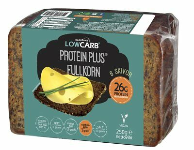 CarbZone Low Carb Protein Plus® Bread 250 g, High Protein