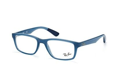 1546883292 Authentic Ray Ban Eyeglasses RB7063 8019 52MM Blue Frames RX-Able