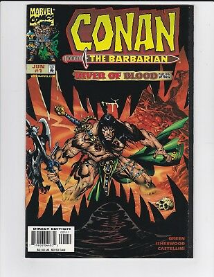 Conan the Barbarian River of Blood #1 2 & 3 Complete Set - 1998 - Near Mint