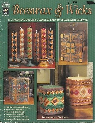 Beeswax & Wicks - 31 designs for home made candles - copyright 2000