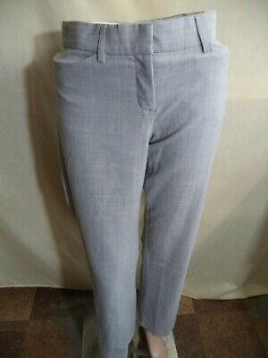 Express Editor or Studio Dress Pants Poly Sz 0: Black Pinstripe or Light Gray