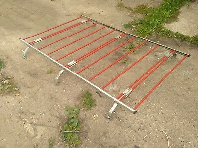 Vintage 1970's 1980's roof rack luggage long heavy