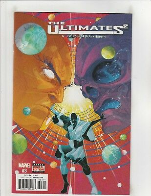 The Ultimates 2 (2017) #3 VF/NM 9.0 Marvel Comics Galactus,Avengers
