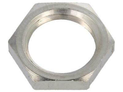 1 X 2712 Nut; M12; brass; nickel; 15mm; Thread: metric; Pitch:1,5