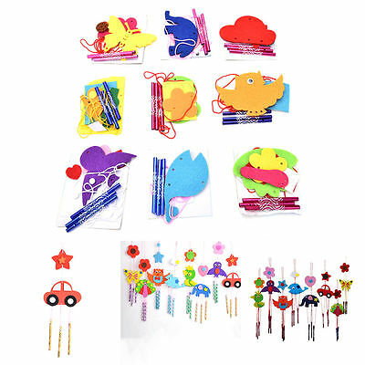 1 Pcs DIY Campanula Wind Chime Kids Manual Arts and Crafts Toys for Kids BSCA