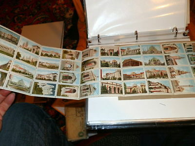 #7928,Very Rare  Poster Stamps Pan-Pacific Expo 1915,Orig Folder