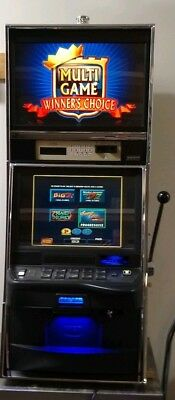 IGT AVP SMLD Multi Game Video Slot Machine With 4 Games!
