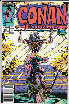 Marvel Comics Conan the Barbarian vol 1 #194 (1987) VF