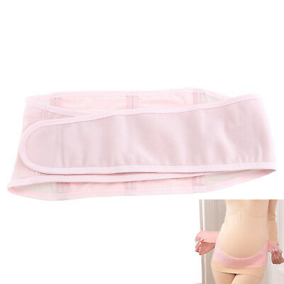 Pregnancy Belly Support Belt Maternity Tummy Wrap Band Stretchable Pink