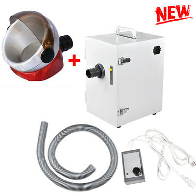 Portable Dental Digital Single-Row Dust Collector Vacuum Cleaner Machine 370W CE