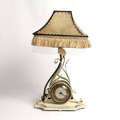 Vintage Smiths Sectric Electric Clock Table Lamp c.1940 Spares Repair
