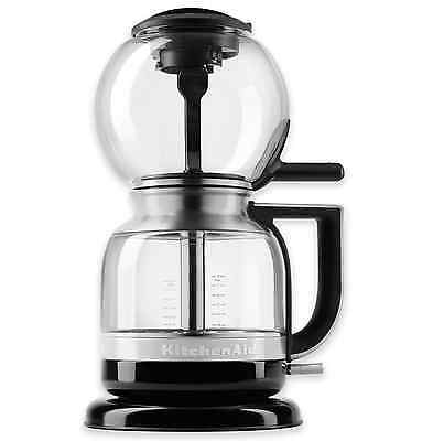 KitchenAid Siphon 40 oz. Coffee Brewer Maker Machine Black w/ Reusable Filter