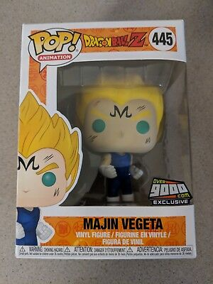 Funko Pop Dragon Ball Z Majin Vegeta NYCC 2018 Exclusive Over9000