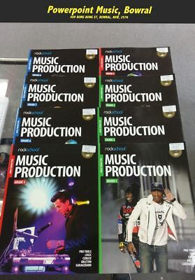 Rockschool Music Production Course Books Grade 1 to 8 Complete Retail $352