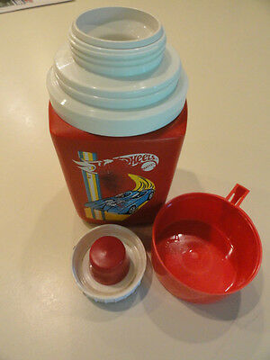 Vintage  +  1973 HOT WHEELS   +   Thermos .... by Mattel