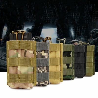 Small Tactical Military Molle Magazine Open Top Dump Utility Straps Pouch Bag AU