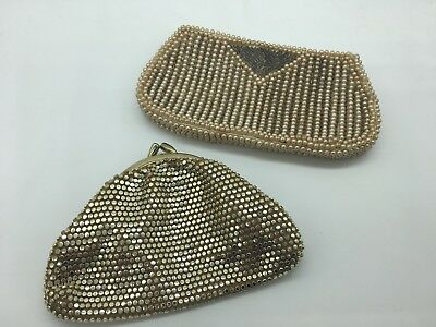 2 x Vintage Mesh (1) and Beaded (1) Purse-Wallet