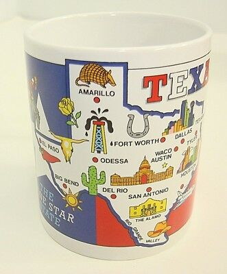 City Merchandise Texas The Lone Star State Collectible Coffee Mug Cup