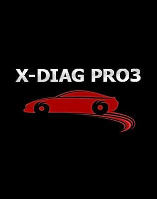 X-Diag Pro 3 Software Activation Online subscription for 1 year