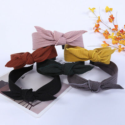 Fashion Women Headband Twist Hairband Bow Knot Cross Hair Band Hoop Accessories